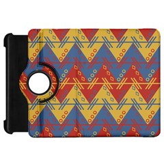 Aztec South American Pattern Zig Kindle Fire Hd 7  by BangZart