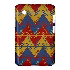 Aztec South American Pattern Zig Samsung Galaxy Tab 2 (7 ) P3100 Hardshell Case  by BangZart