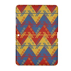 Aztec South American Pattern Zig Samsung Galaxy Tab 2 (10 1 ) P5100 Hardshell Case  by BangZart