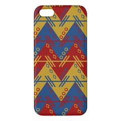 Aztec South American Pattern Zig Iphone 5s/ Se Premium Hardshell Case