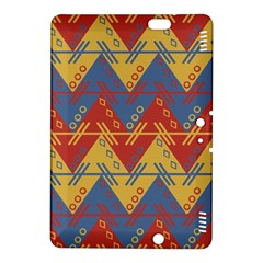 Aztec South American Pattern Zig Kindle Fire Hdx 8 9  Hardshell Case by BangZart