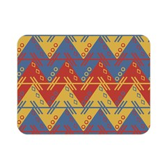 Aztec South American Pattern Zig Double Sided Flano Blanket (mini)