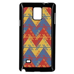 Aztec South American Pattern Zig Samsung Galaxy Note 4 Case (black)