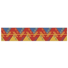 Aztec South American Pattern Zig Flano Scarf (small) by BangZart