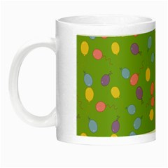 Balloon Grass Party Green Purple Night Luminous Mugs