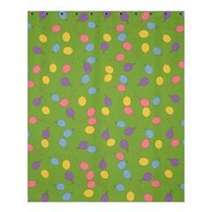 Balloon Grass Party Green Purple Shower Curtain 60  X 72  (medium)  by BangZart