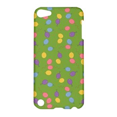 Balloon Grass Party Green Purple Apple Ipod Touch 5 Hardshell Case by BangZart