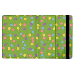 Balloon Grass Party Green Purple Apple Ipad 2 Flip Case by BangZart