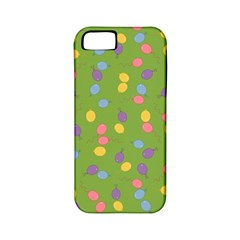 Balloon Grass Party Green Purple Apple Iphone 5 Classic Hardshell Case (pc+silicone) by BangZart