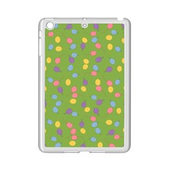 Balloon Grass Party Green Purple Ipad Mini 2 Enamel Coated Cases by BangZart