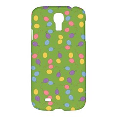 Balloon Grass Party Green Purple Samsung Galaxy S4 I9500/i9505 Hardshell Case by BangZart