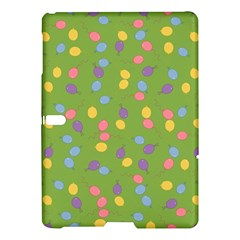 Balloon Grass Party Green Purple Samsung Galaxy Tab S (10 5 ) Hardshell Case  by BangZart