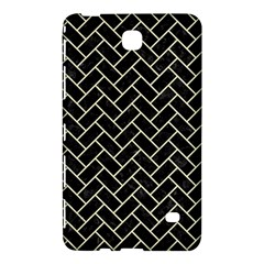 Brick2 Black Marble & Beige Linen Samsung Galaxy Tab 4 (7 ) Hardshell Case  by trendistuff