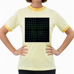 Abstract Adobe Photoshop Background Beautiful Women s Fitted Ringer T Shirts