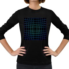 Abstract Adobe Photoshop Background Beautiful Women s Long Sleeve Dark T Shirts