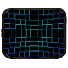 Abstract Adobe Photoshop Background Beautiful Netbook Case (xl)