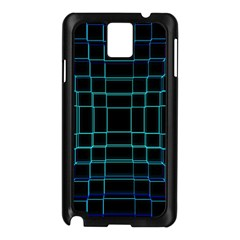 Abstract Adobe Photoshop Background Beautiful Samsung Galaxy Note 3 N9005 Case (black)