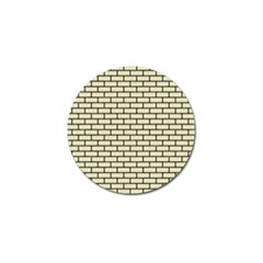 Brick1 Black Marble & Beige Linen (r) Golf Ball Marker (10 Pack) by trendistuff