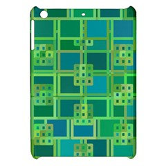 Green Abstract Geometric Apple Ipad Mini Hardshell Case by BangZart