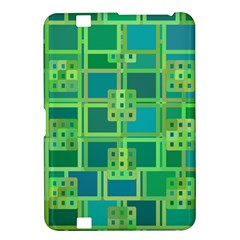 Green Abstract Geometric Kindle Fire Hd 8 9  by BangZart