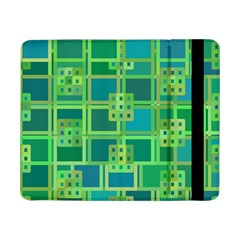 Green Abstract Geometric Samsung Galaxy Tab Pro 8 4  Flip Case by BangZart