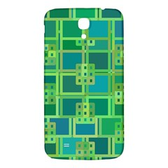 Green Abstract Geometric Samsung Galaxy Mega I9200 Hardshell Back Case by BangZart