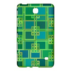 Green Abstract Geometric Samsung Galaxy Tab 4 (8 ) Hardshell Case