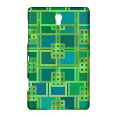 Green Abstract Geometric Samsung Galaxy Tab S (8 4 ) Hardshell Case
