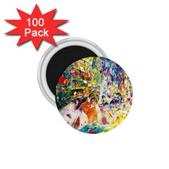 Multicolor Anime Colors Colorful 1 75  Magnets (100 Pack)