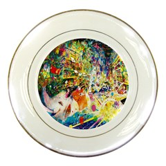 Multicolor Anime Colors Colorful Porcelain Plates by BangZart