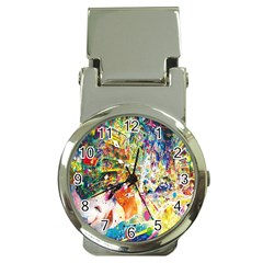 Multicolor Anime Colors Colorful Money Clip Watches by BangZart