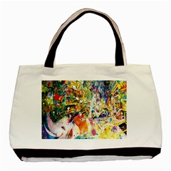 Multicolor Anime Colors Colorful Basic Tote Bag