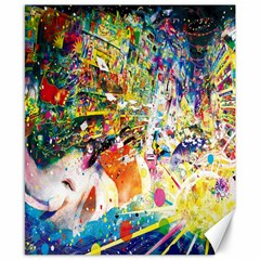 Multicolor Anime Colors Colorful Canvas 8  X 10  by BangZart