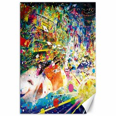 Multicolor Anime Colors Colorful Canvas 20  X 30