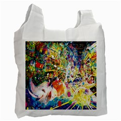 Multicolor Anime Colors Colorful Recycle Bag (two Side)  by BangZart