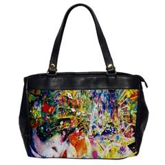 Multicolor Anime Colors Colorful Office Handbags by BangZart