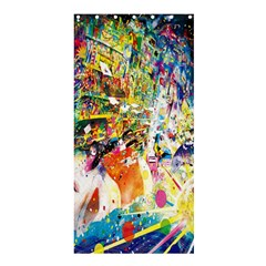 Multicolor Anime Colors Colorful Shower Curtain 36  X 72  (stall)