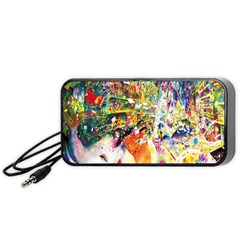 Multicolor Anime Colors Colorful Portable Speaker (black) by BangZart