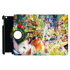Multicolor Anime Colors Colorful Apple Ipad 3/4 Flip 360 Case by BangZart