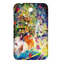 Multicolor Anime Colors Colorful Samsung Galaxy Tab 3 (7 ) P3200 Hardshell Case  by BangZart