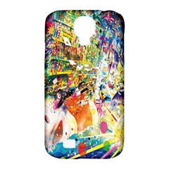 Multicolor Anime Colors Colorful Samsung Galaxy S4 Classic Hardshell Case (pc+silicone)