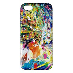 Multicolor Anime Colors Colorful Iphone 5s/ Se Premium Hardshell Case by BangZart
