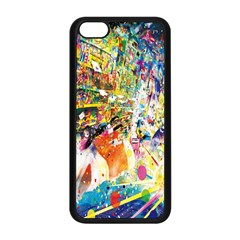 Multicolor Anime Colors Colorful Apple Iphone 5c Seamless Case (black) by BangZart