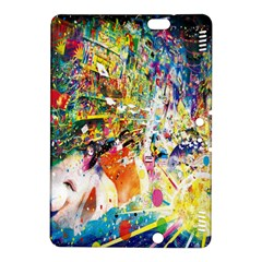Multicolor Anime Colors Colorful Kindle Fire Hdx 8 9  Hardshell Case by BangZart