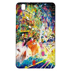 Multicolor Anime Colors Colorful Samsung Galaxy Tab Pro 8 4 Hardshell Case by BangZart