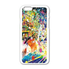 Multicolor Anime Colors Colorful Apple Iphone 6/6s White Enamel Case by BangZart