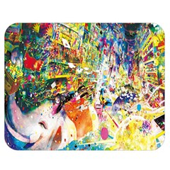 Multicolor Anime Colors Colorful Double Sided Flano Blanket (medium)  by BangZart