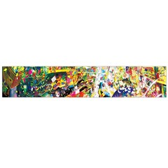 Multicolor Anime Colors Colorful Flano Scarf (large) by BangZart