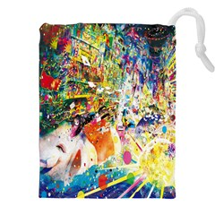 Multicolor Anime Colors Colorful Drawstring Pouches (xxl) by BangZart