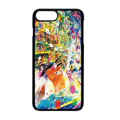 Multicolor Anime Colors Colorful Apple Iphone 7 Plus Seamless Case (black)